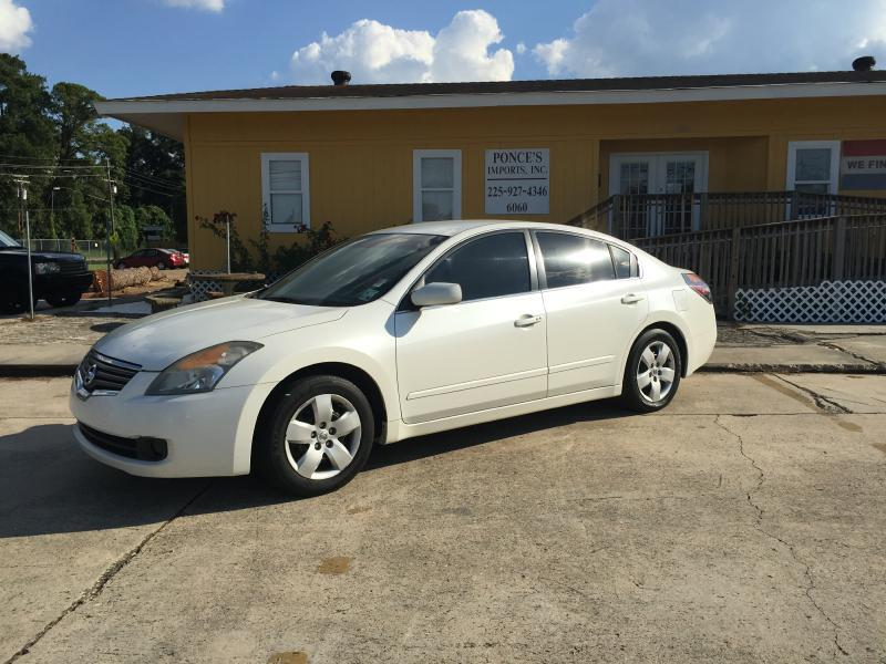 2008 NISSAN ALTIMA 25 4DR SEDAN white air conditioning optional power windowslocks standard