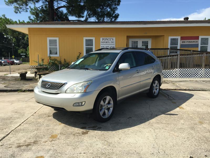 2007 LEXUS RX 350 BASE 4DR SUV silver air conditioning power windows power locks power steerin
