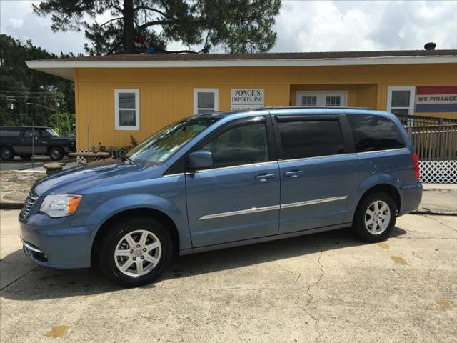 2012 CHRYSLER TOWN AND COUNTRY TOURING 4DR MINI VAN blue air conditioning power windows power l