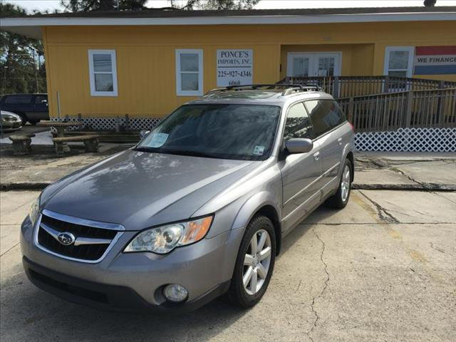 2008 SUBARU OUTBACK 25I LIMITED silver air conditioning standard power windowslocks standard