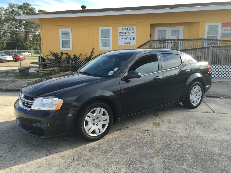 2011 DODGE AVENGER EXPRESS 4DR SEDAN black air conditioning power windows power locks power st