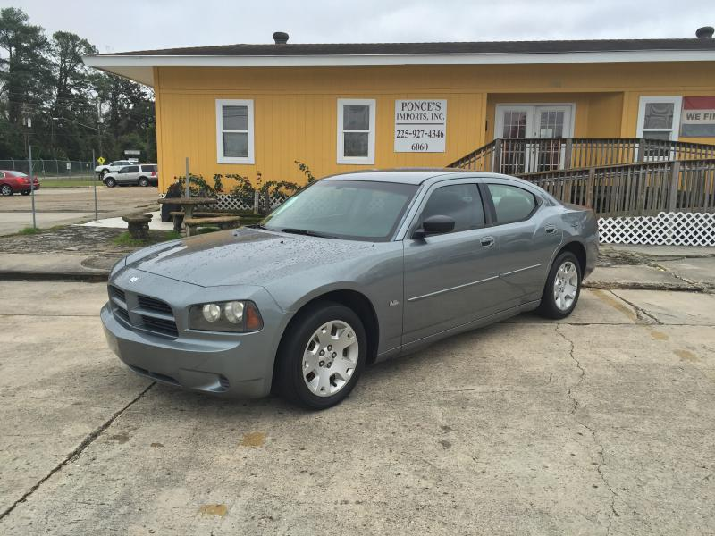 2006 DODGE CHARGER SE 4DR SEDAN gray air conditioning power windows power locks power steering