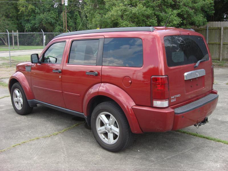 2008 DODGE NITRO SLT 4DR SUV red driver air bag passenger air bag front side air bag ac amf
