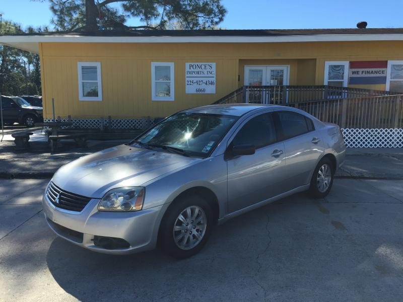 2009 MITSUBISHI GALANT ES 4DR SEDAN silver air conditioning power windows power locks power st