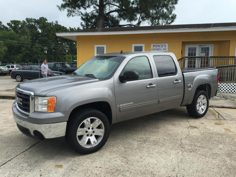 2008 GMC SIERRA 1500 1500 gray air conditioning power windows power locks power steering tilt