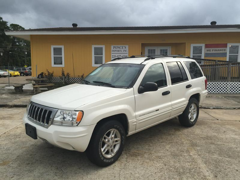 2004 JEEP GRAND CHEROKEE LAREDO 4DR SUV white air conditioning power windows power locks power