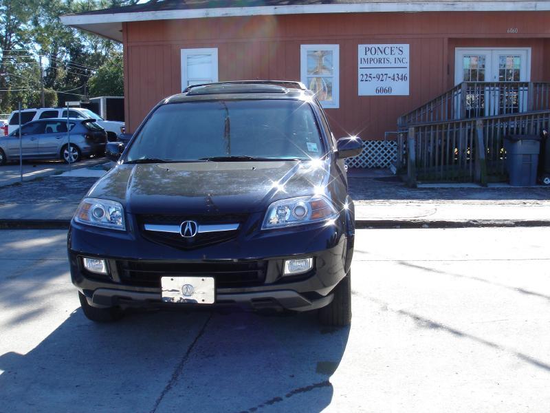 2004 ACURA MDX TOURING AWD 4DR SUV black driver air bag passenger air bag front side air bag f
