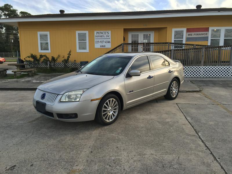2007 MERCURY MILAN I-4 4DR SEDAN silver air conditioning standard power windowslocks standard