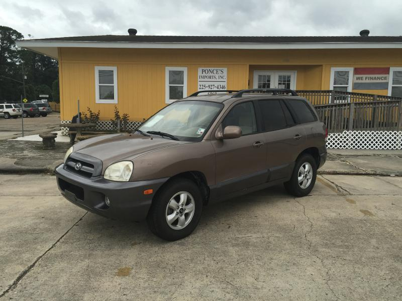 2006 HYUNDAI SANTA FE GLS 4DR SUV W27L V6 brown air conditioning power windows power locks p