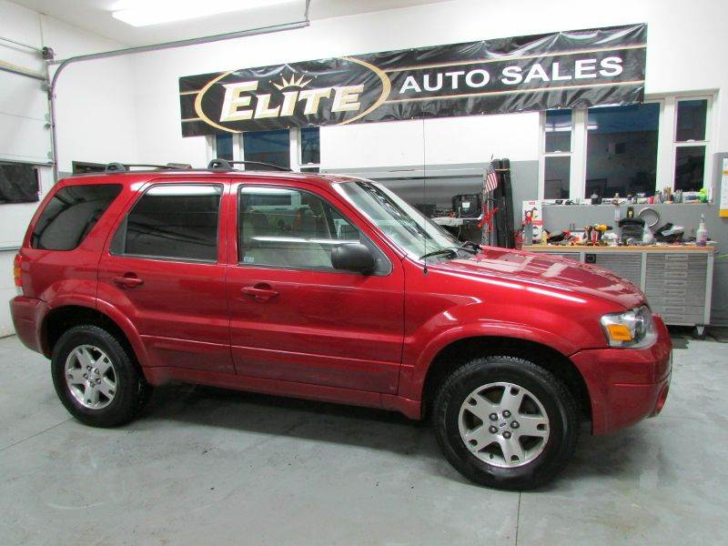2005 ford escape awd limited 4dr suv in idaho falls id. Black Bedroom Furniture Sets. Home Design Ideas