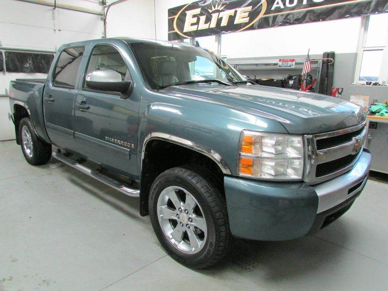 2009 chevrolet silverado 1500 4x4 lt 4dr crew cab 5 8 ft. Black Bedroom Furniture Sets. Home Design Ideas