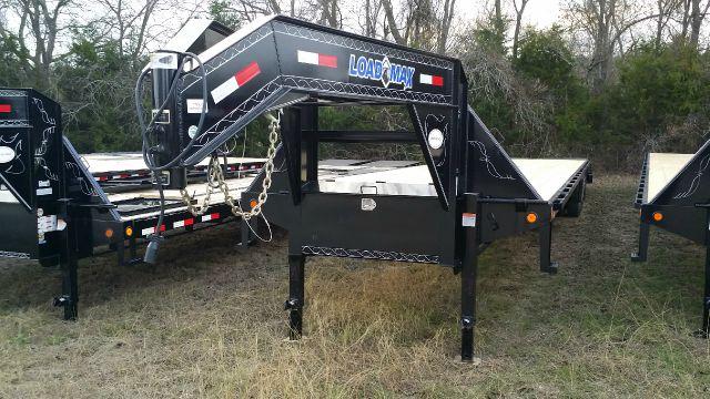 2015 Load Trail / Load Max 40ft Gooseneck Trailer w 10k D Powdercoated - Trenton TX