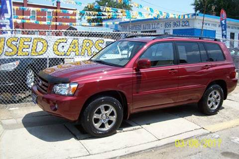 2004 Toyota Highlander for sale in Camden, NJ