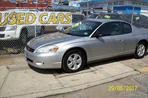 2006 Chevrolet Monte Carlo for sale in Camden, NJ
