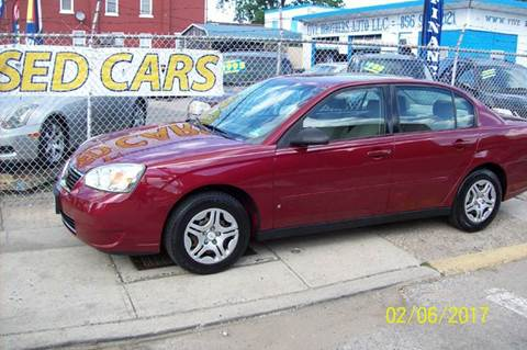 2007 Chevrolet Malibu for sale in Camden, NJ