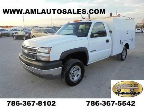 2005 Chevrolet Service Body Utility Truck for sale in Opalocka, FL