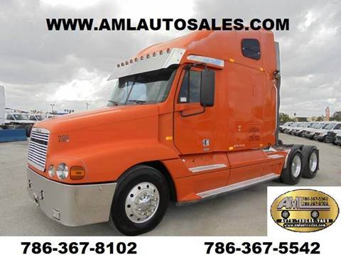 1998 Freightliner Century Truck Tractor Trailer for sale in Opalocka, FL