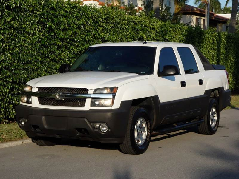 2005 CHEVROLET AVALANCHE 1500 LS 4DR CREW CAB SB RWD white abs - 4-wheel anti-theft system - ala