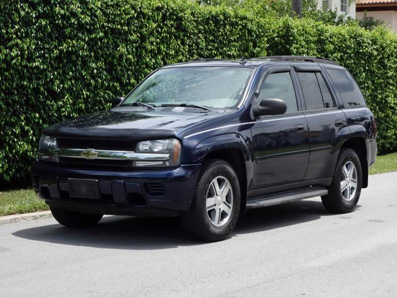 2007 CHEVROLET TRAILBLAZER LS 4DR SUV 4WD blue 2-stage unlocking 4wd type - part time w on dema