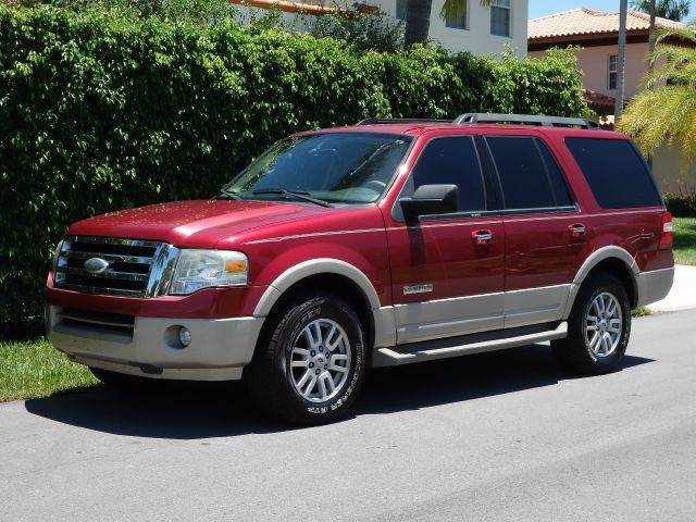 2007 FORD EXPEDITION EDDIE BAUER 4DR SUV red 2-stage unlocking - remote abs - 4-wheel airbag de