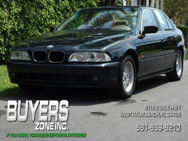 2002 BMW 5 SERIES 525I 4DR SEDAN green abs - 4-wheel anti-theft system - alarm center console