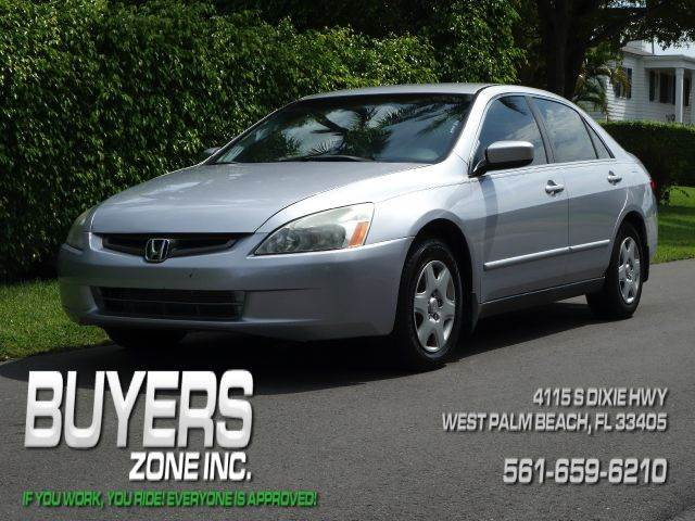 2005 HONDA ACCORD LX 4DR SEDAN silver abs - 4-wheel center console - front console with storage