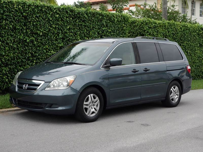 2005 HONDA ODYSSEY EX 4DR MINI VAN blue abs - 4-wheel anti-theft system - alarm cd changer clo