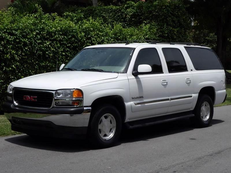 2006 GMC YUKON XL SLE 1500 4DR SUV white abs - 4-wheel airbag deactivation - occupant sensing pa
