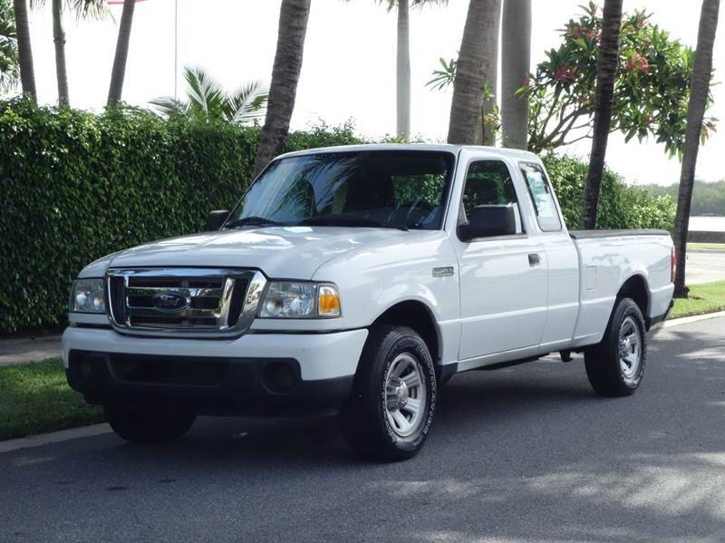 2010 FORD RANGER XLT 4X2 2DR SUPERCAB SB white 2-stage unlocking abs - 4-wheel airbag deactivat