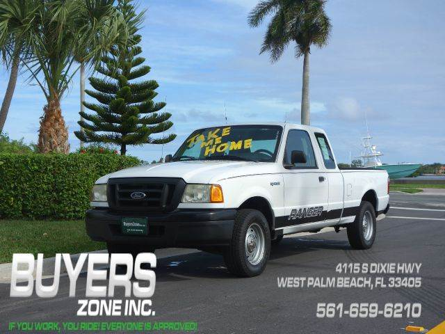 2004 FORD RANGER XLT SUPERCAB 30L AT 2WD white beautiful vehicle runs great very clean and wel