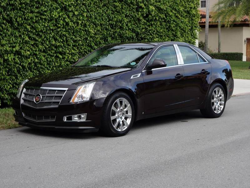 2008 CADILLAC CTS 36L DI 4DR SEDAN WNAVIGATION P purple 2-stage unlocking - remote abs - 4-whe