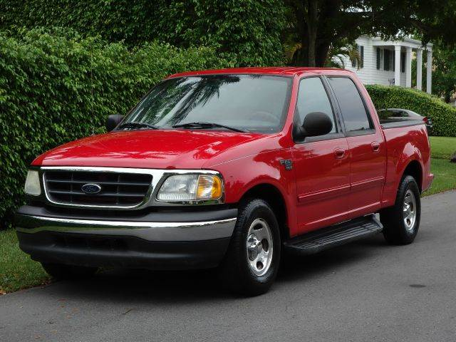 2003 FORD F-150 XLT 4DR SUPERCREW RWD STYLESIDE red abs - 4-wheel adjustable pedals - power ant