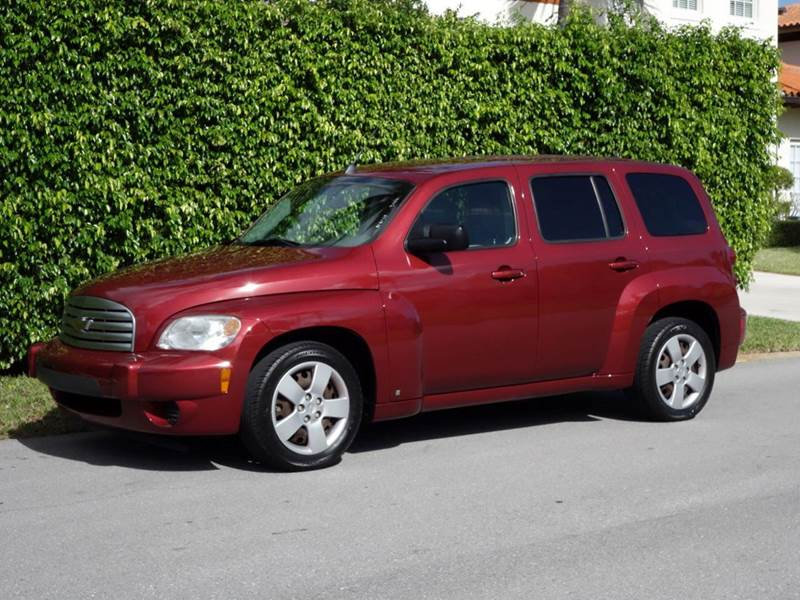 2009 CHEVROLET HHR LS 4DR WAGON red abs - 4-wheel air filtration anti-theft system - audio secu