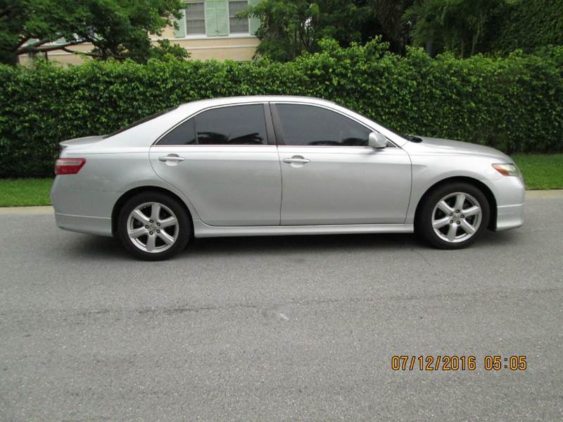 2007 toyota camry se v6 4dr sedan in west palm beach fl buyers zone inc. Black Bedroom Furniture Sets. Home Design Ideas