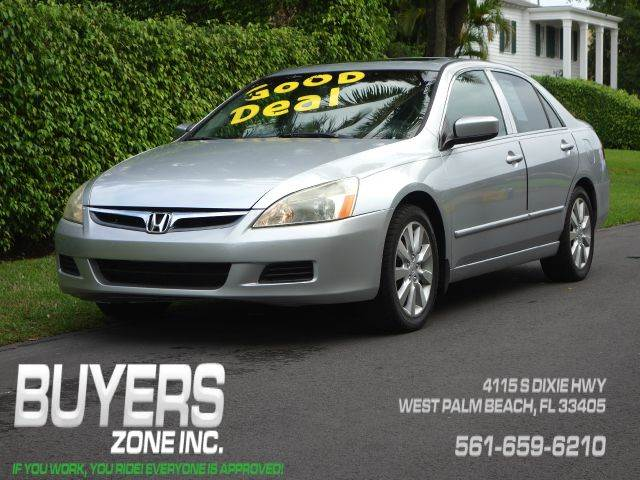 2006 HONDA ACCORD EX V-6 4DR SEDAN silver abs - 4-wheel air filtration airbag deactivation - oc