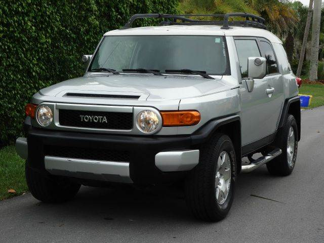 2008 TOYOTA FJ CRUISER BASE 4X4 4DR SUV 5A silver 4wd type - part time abs - 4-wheel anti-theft