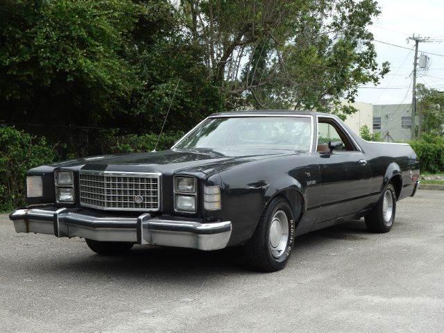 1979 FORD RANCHERO black 69564 miles VIN 00000000000000000