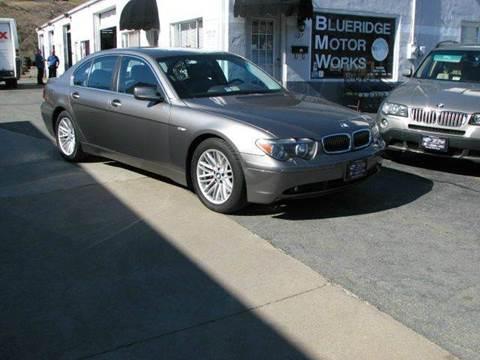 2004 BMW 7 Series for sale in Charlottesville, VA