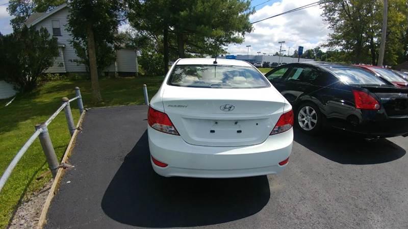 2012 Hyundai Accent GLS 4dr Sedan - Spencerport NY