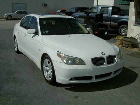 2007 BMW 5 Series for sale in Campobello, SC