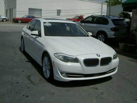 2011 BMW 5 Series for sale in Campobello, SC