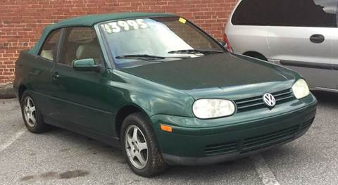 1999 Volkswagen Cabrio For Sale In Hickory NC