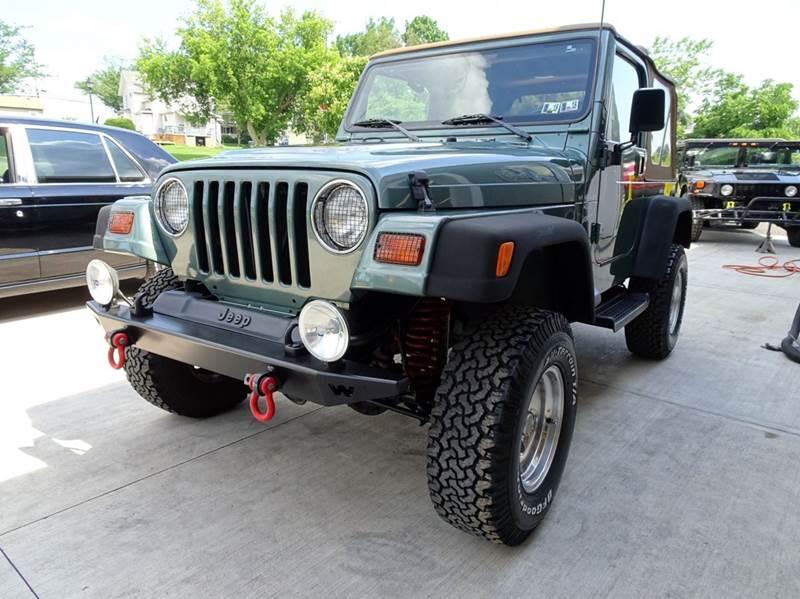 1999 jeep wrangler 2dr sport 4wd suv in hilton ny great. Black Bedroom Furniture Sets. Home Design Ideas