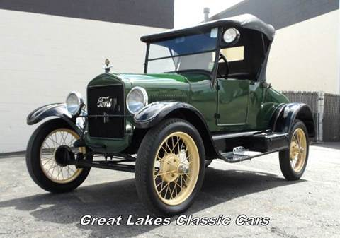 1926 Ford Model T For Sale  Carsforsalecom