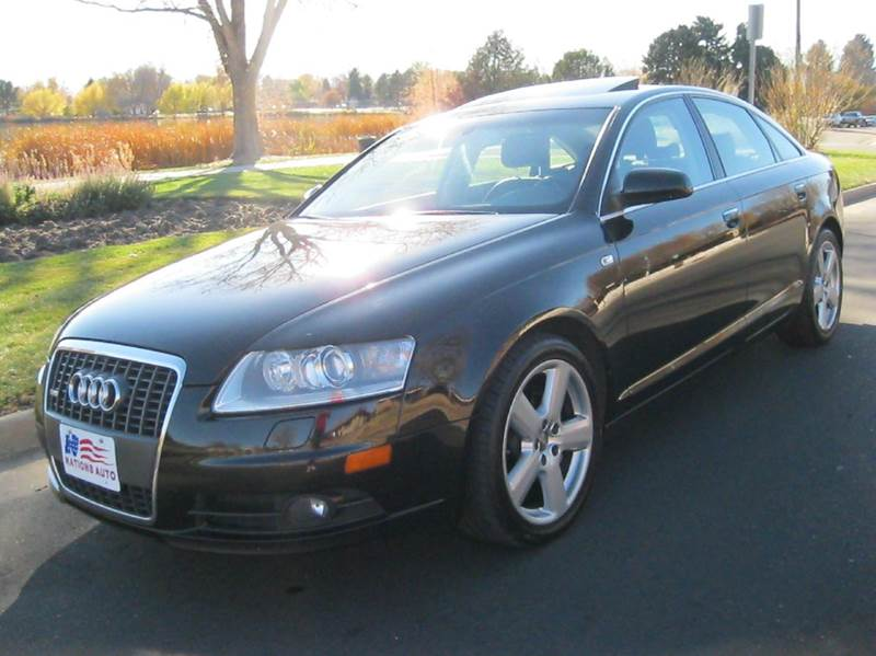 2008 audi a6 3 2 quattro awd 4dr sedan in denver co nations auto inc ii. Black Bedroom Furniture Sets. Home Design Ideas
