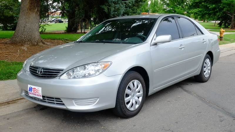 2006 toyota camry le 4dr sedan w automatic in denver co nations auto inc ii. Black Bedroom Furniture Sets. Home Design Ideas
