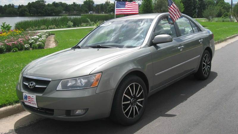 2008 Hyundai Sonata Limited 4dr Sedan In Denver Co