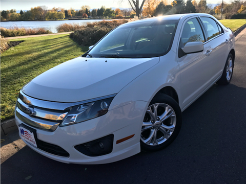 2012 ford fusion for sale in colorado. Black Bedroom Furniture Sets. Home Design Ideas