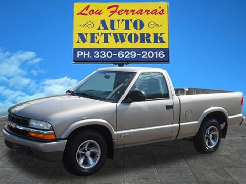 2001 Chevrolet S-10 for sale in Youngstown, OH
