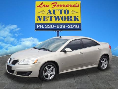 2009 Pontiac G6 for sale in Youngstown, OH